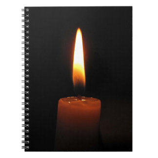 Candle Flame Note Book