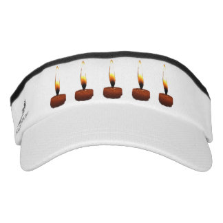 Candle Flames Headsweats Visors