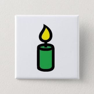 candle green button