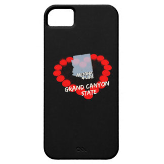 Candle Heart Design For The State of Arizona iPhone SE/5/5s Case
