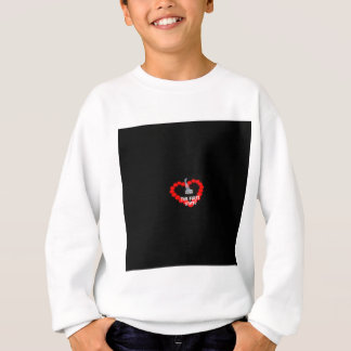 Candle Heart Design For The State of Delaware Sweatshirt