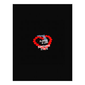 Candle Heart Design For The State of Florida Letterhead