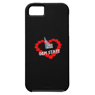 Candle Heart Design For The State of Idaho iPhone SE/5/5s Case