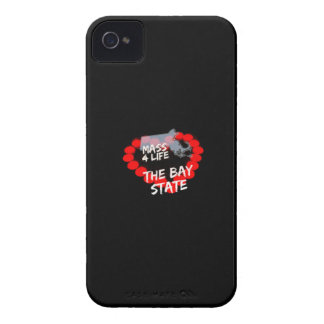 Candle Heart Design For The State of Massachusetts Case-Mate iPhone 4 Case