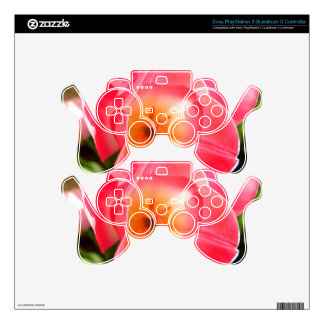 Candle Heart PS3 Controller Skin