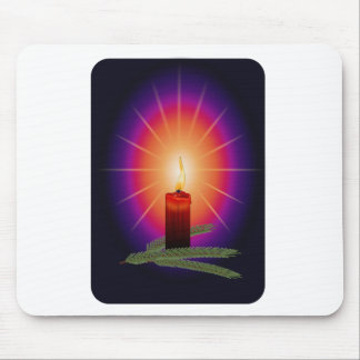 Candle Image Mouse Pad
