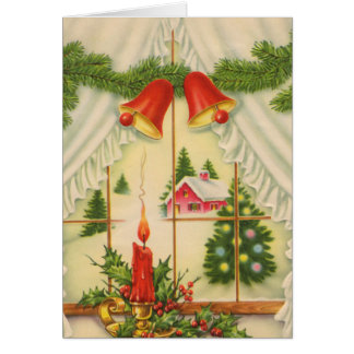 Candle in the Window Card