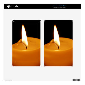 Candle Kindle Fire Decals