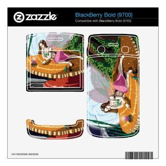 Candle Light Fairy BlackBerry Bold 9700 Vinyl Skin BlackBerry Bold Skin