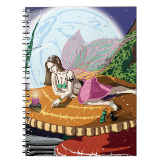 Candle Light Fairy Notebook