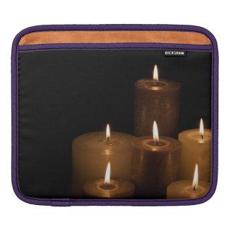 Candle Light iPad Sleeve