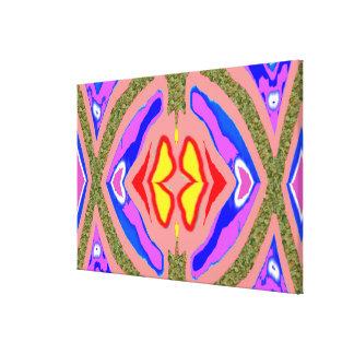 Candle LIGHT  kaleidoscope Canvas Print