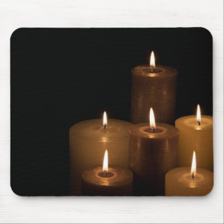 Candle Light Mouse Pad