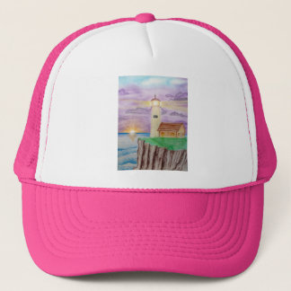 Candle Light of the Sea Trucker Hat