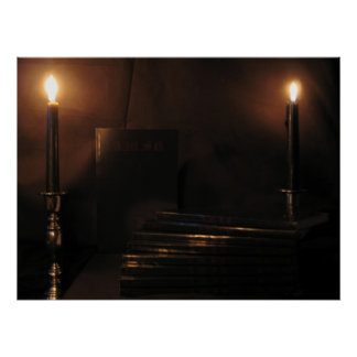 candle light poster