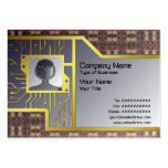 Candle Lights Grid Business Card Template