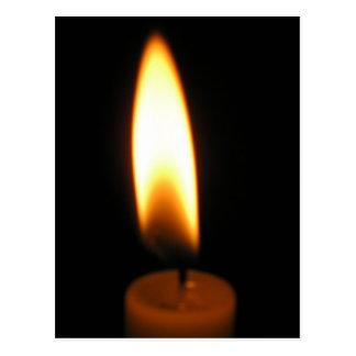 Candle lite postcard