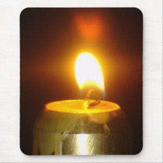 candle mouse pad