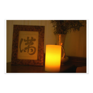 Candle photo stationary stationery paper