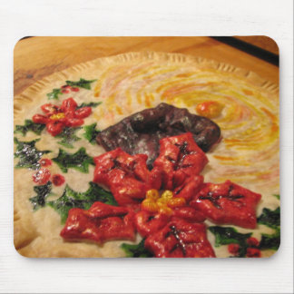 Candle Pie Mouse Pad