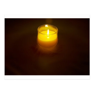 candle post card