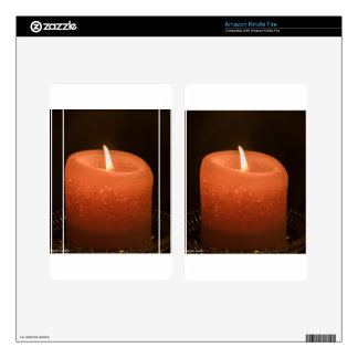 Candle Skins For Kindle Fire