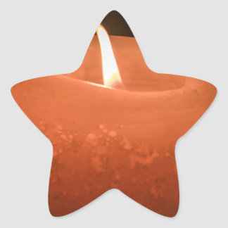 Candle Star Sticker