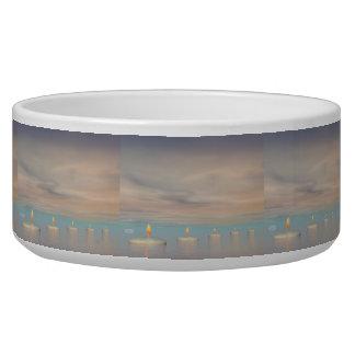 Candle steps - 3D render Bowl