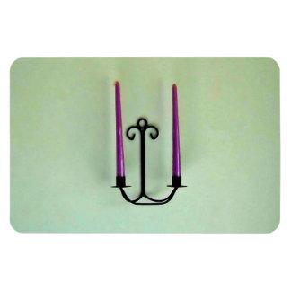 Candle sticks flexible magnet
