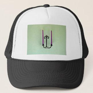 Candle sticks trucker hat
