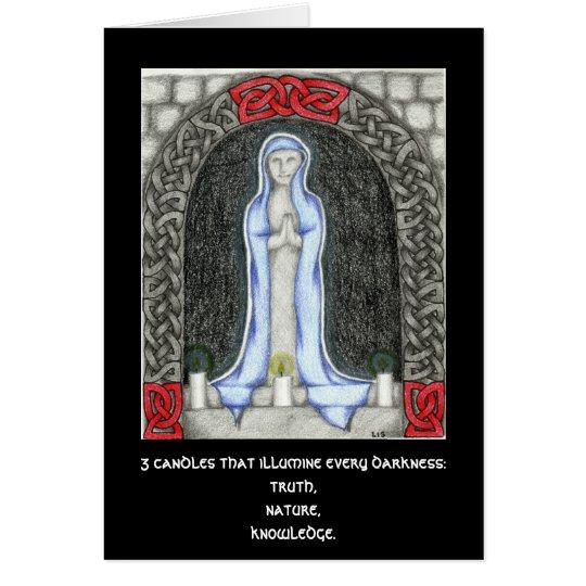 Candle Triad card