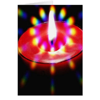 Candle With Special Lights Cards