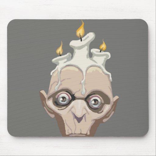 candlehead mouse pad