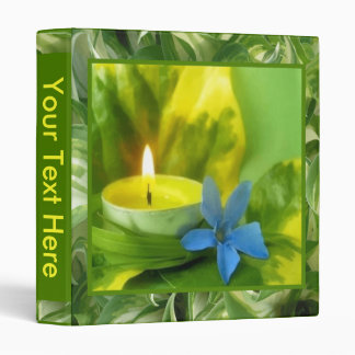 Candlelight and Flowers Binder