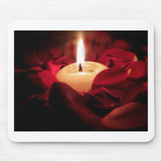 Candlelight and Roses Mouse Pad