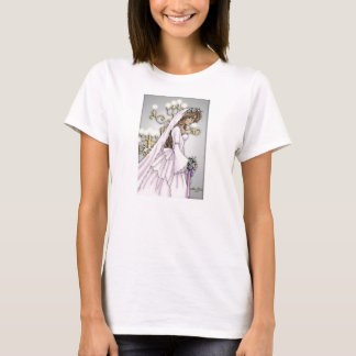 Candlelight Bride T-shirt 1