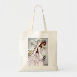Candlelight Bride Tote Bag 4