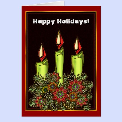 Candlelight Card