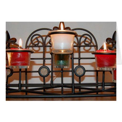 Candlelight Christmas Greeting Card