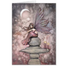 Candlelight Fairy Greeting Card by Molly Harrison