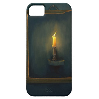 Candlelight illustration iPhone 5 Cases