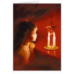 Candlelight Magic Greeting Card