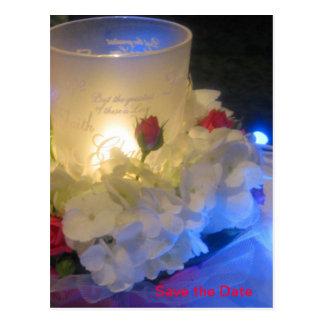 Candlelight Memories Postcard