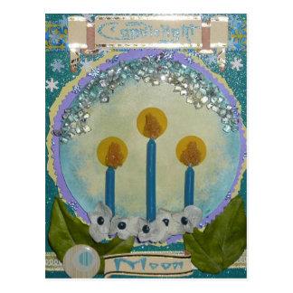 Candlelight Moon Postcard