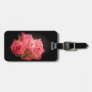 Candlelight Roses Tag For Luggage