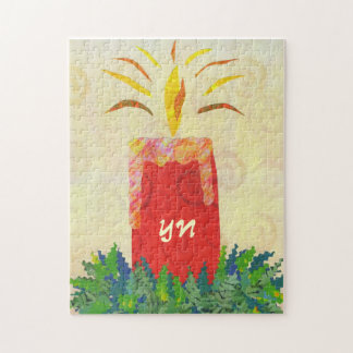 Candlelight's Gleaming monogram Puzzles