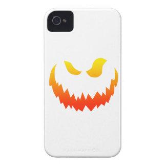 Candlelit Smiling Halloween Jack-o-lantern iPhone 4 Cover