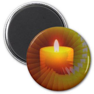 Candlelite Illusion Merchandise 2 Inch Round Magnet