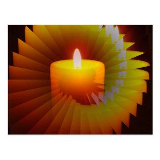 Candlelite Illusion Merchandise Post Card