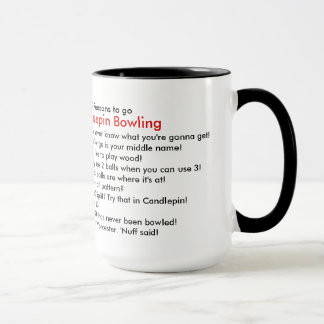 Candlepin Mug - Top 10 Reasons
